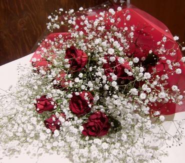 誕生日の花束。《前橋市の花屋さん》