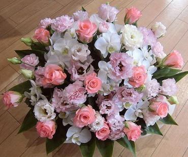 快気祝いのアレンジメント。《前橋市の花屋さん》