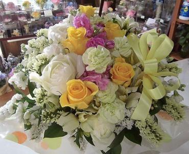 退職祝い、送別の花…