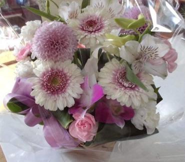 ペットのお供えの花…