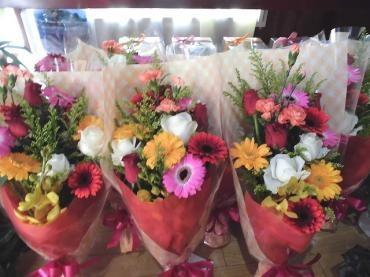 成人式、同窓会の花…